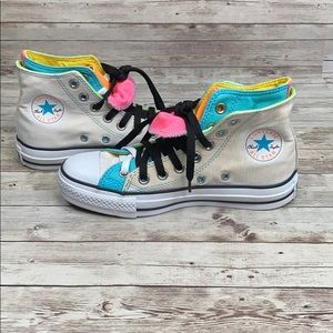 Converse Chuck Taylor double upper sneakers 6